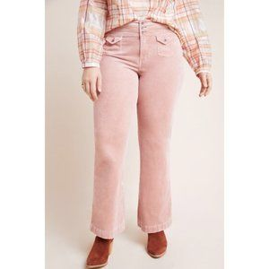 Anthropologie Pilcro High-Rise Bootcut Corduroy